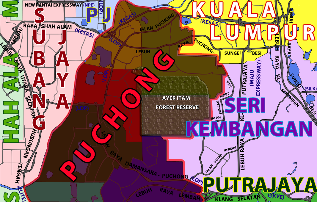 Puchong Land Commercial Retail Industrial Factory Mall Corporate